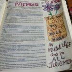 Examples of Bible Journaling Art