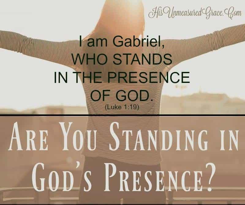 Standing in God's Presence