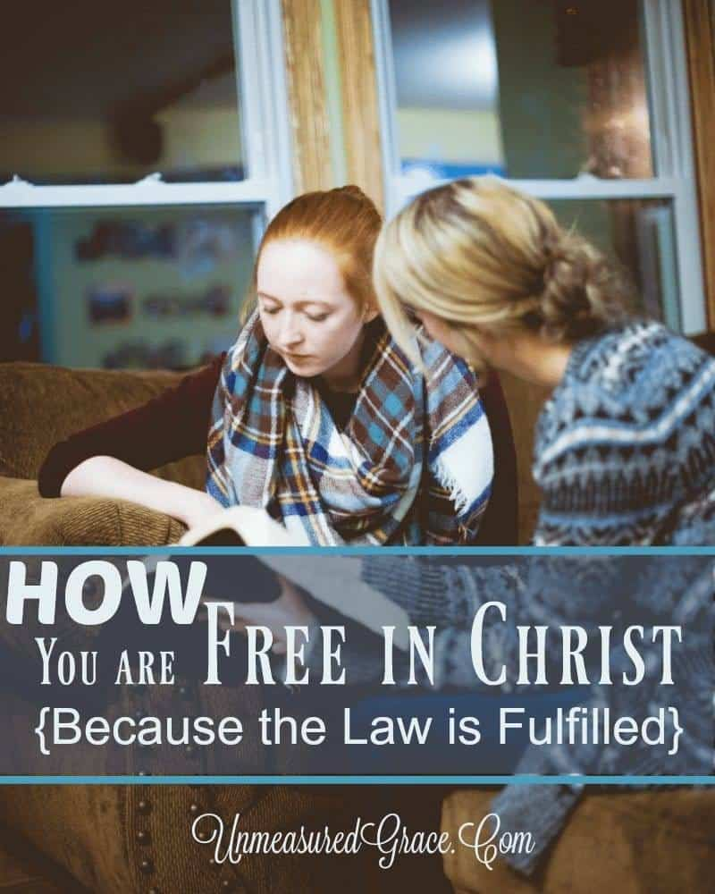 How You Are Free In Christ
