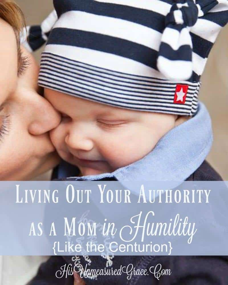 Living Out Your Authority As A Mom
