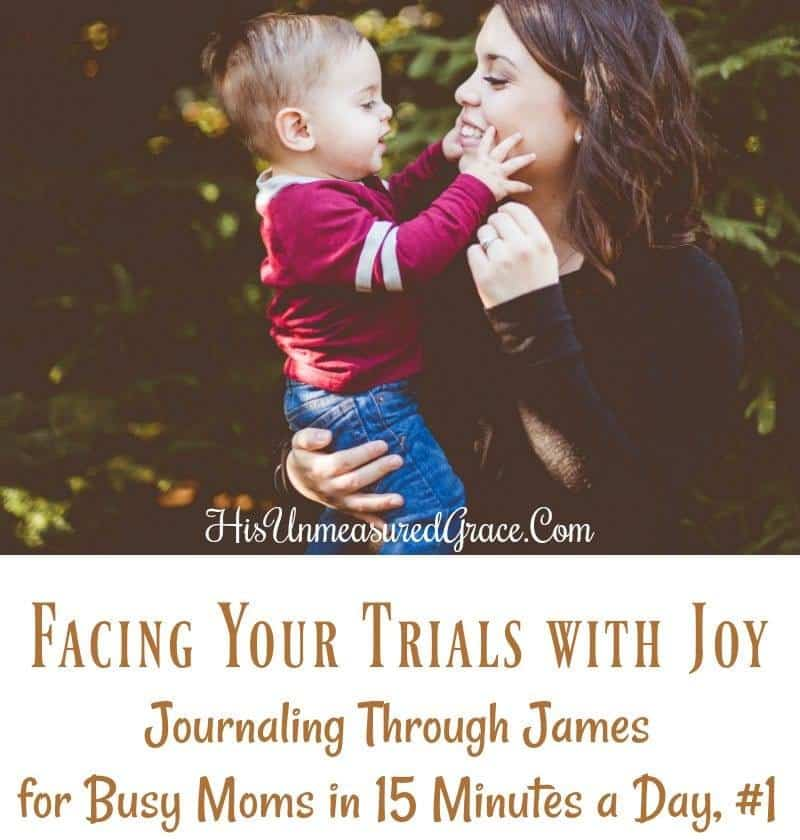 Facing Your Trials With Joy