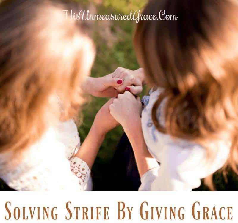 Solving Strife
