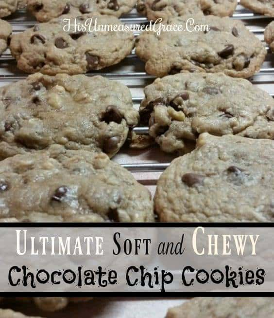 Ultimate Soft and Chewy Chocolate Chip Cookies