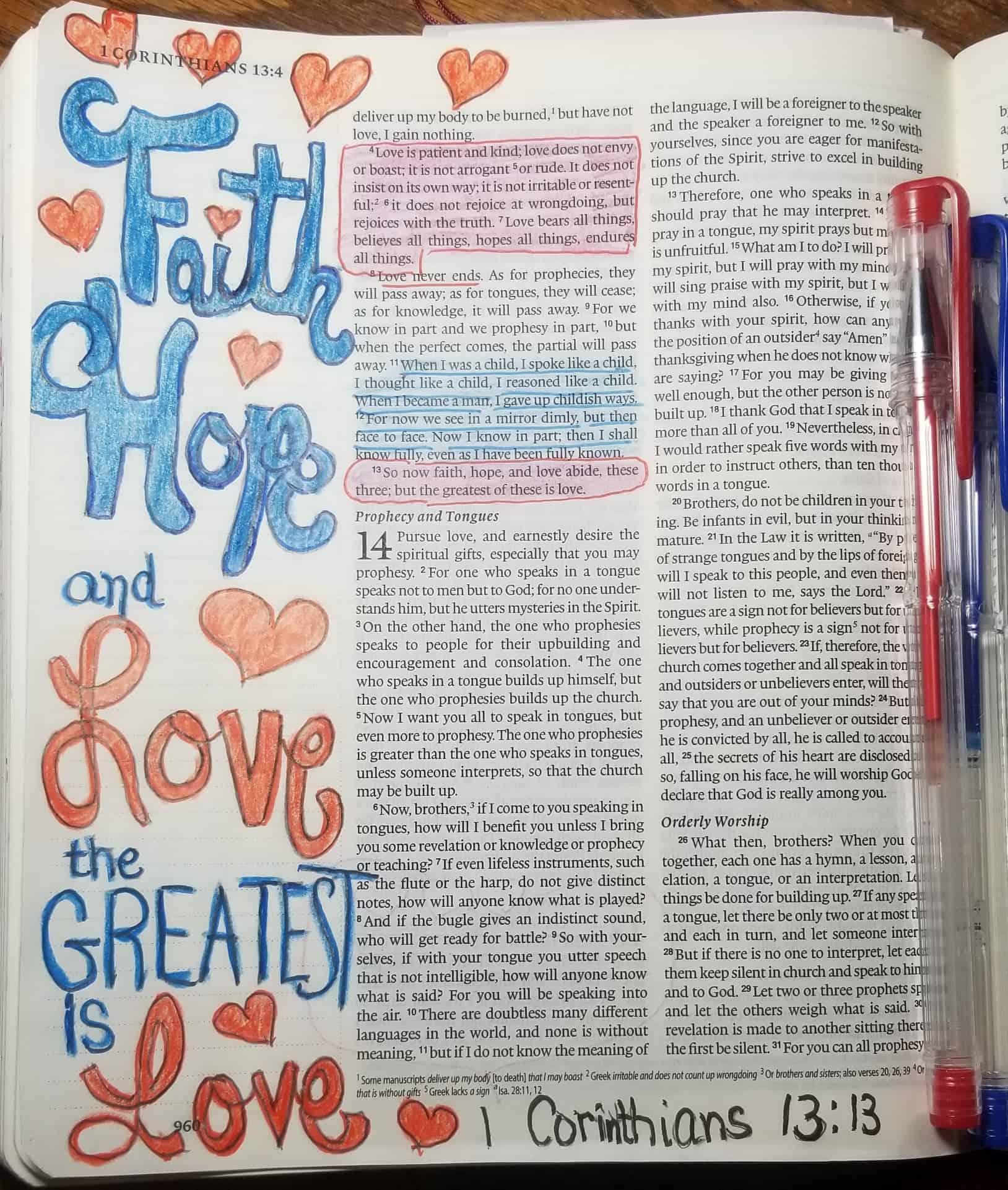 Bible Journaling Art for Anyone