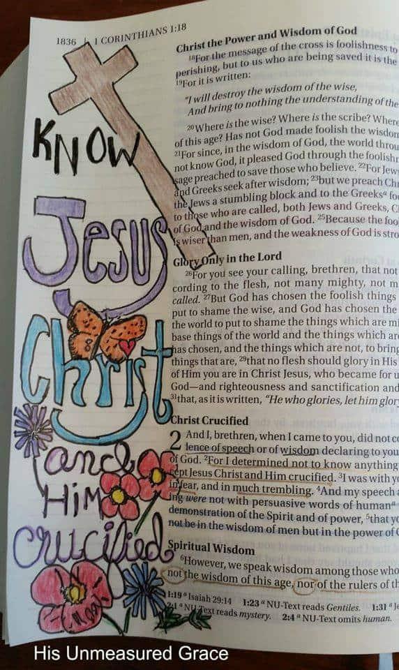 1 Corinthians 2-2-3