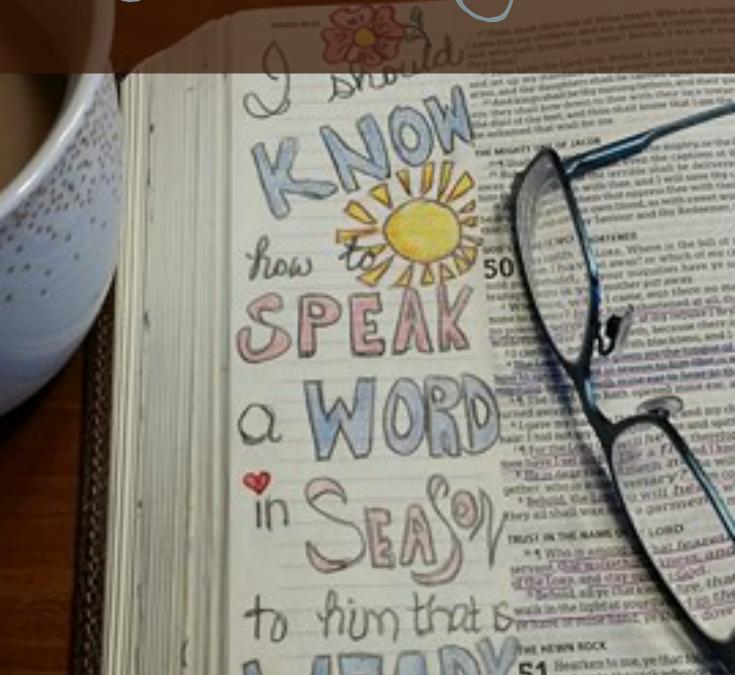 Bible Reading Routine