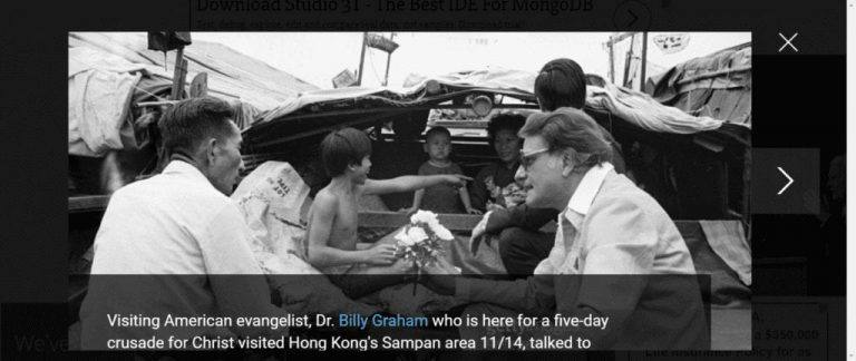 Billy Graham Left an Impact on the World for Christ