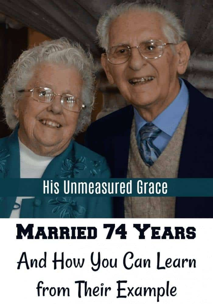 Married 74 Years: How to Learn from their Example