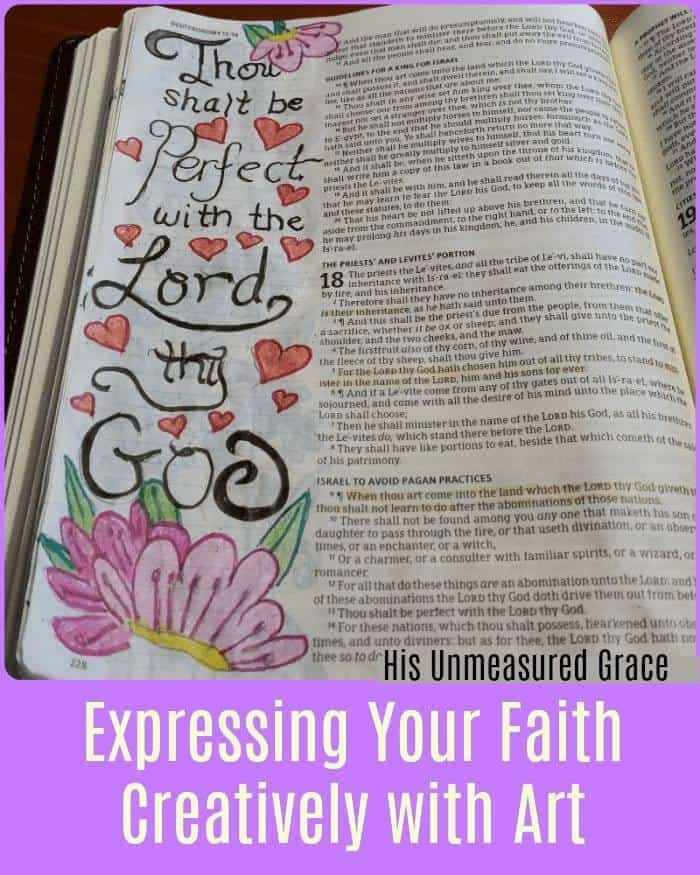 Expressing Your Faith Creatively Through Art