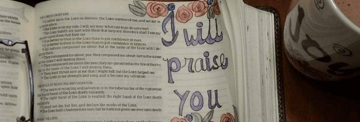 Simple Bible Journaling Ideas When You're Not Artistic