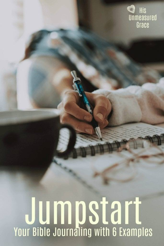 umpstart Your Bible Journaling with 6 Examples