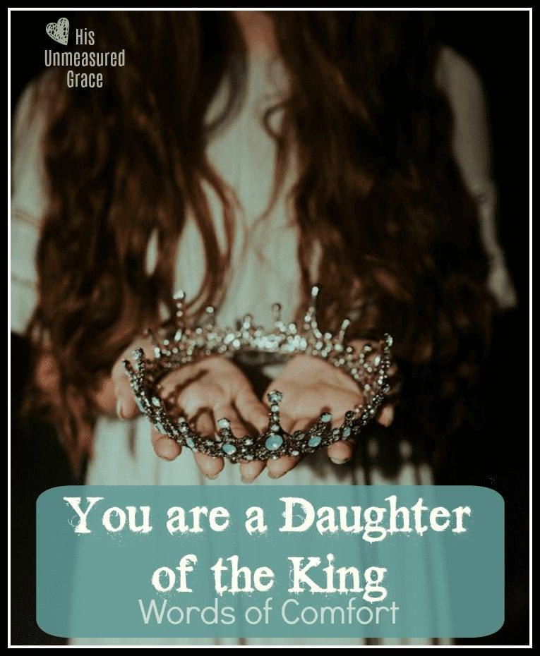 You are a Daughter of the King
