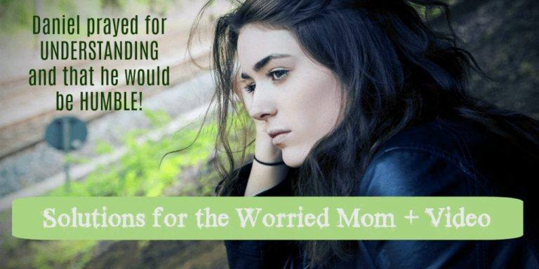 Solutions for the Worried Mom + Video