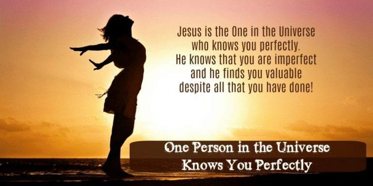 One Person in the Universe Knows You Perfectly