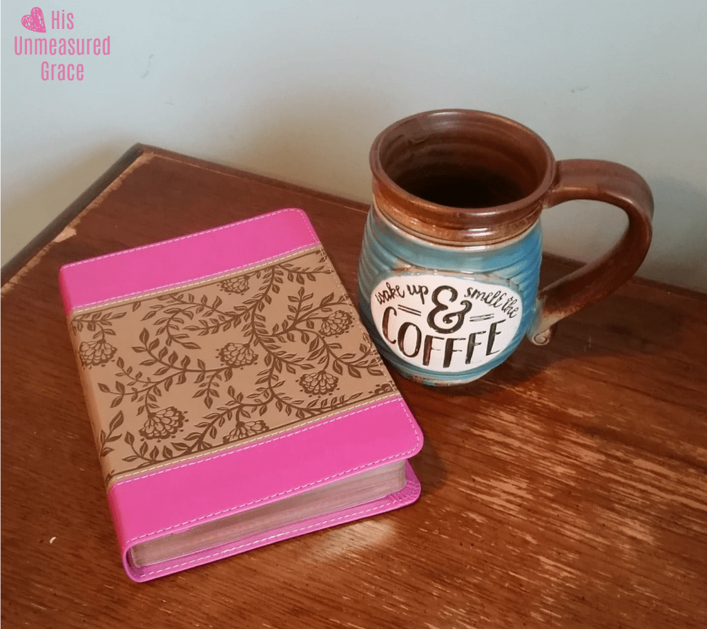 Tutorial on Using a Cross for Bible Journaling