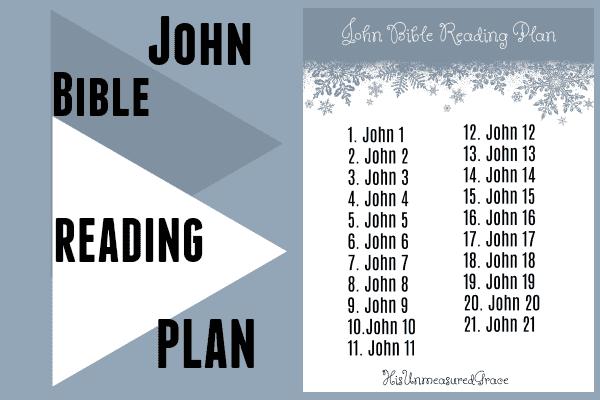 John reading plan