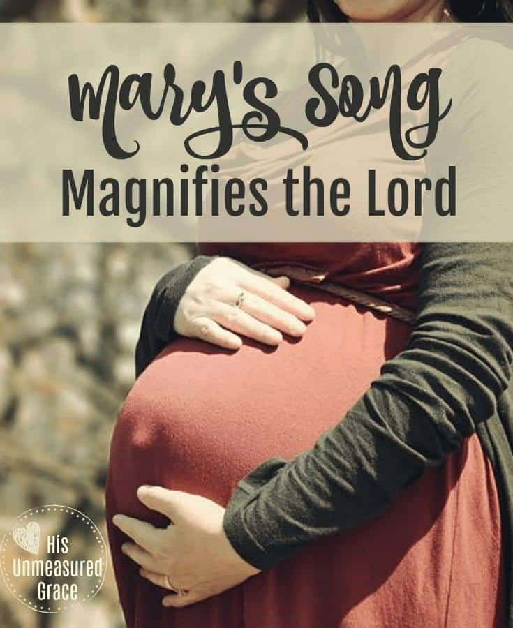 Mary's Song Magnifies the Lord