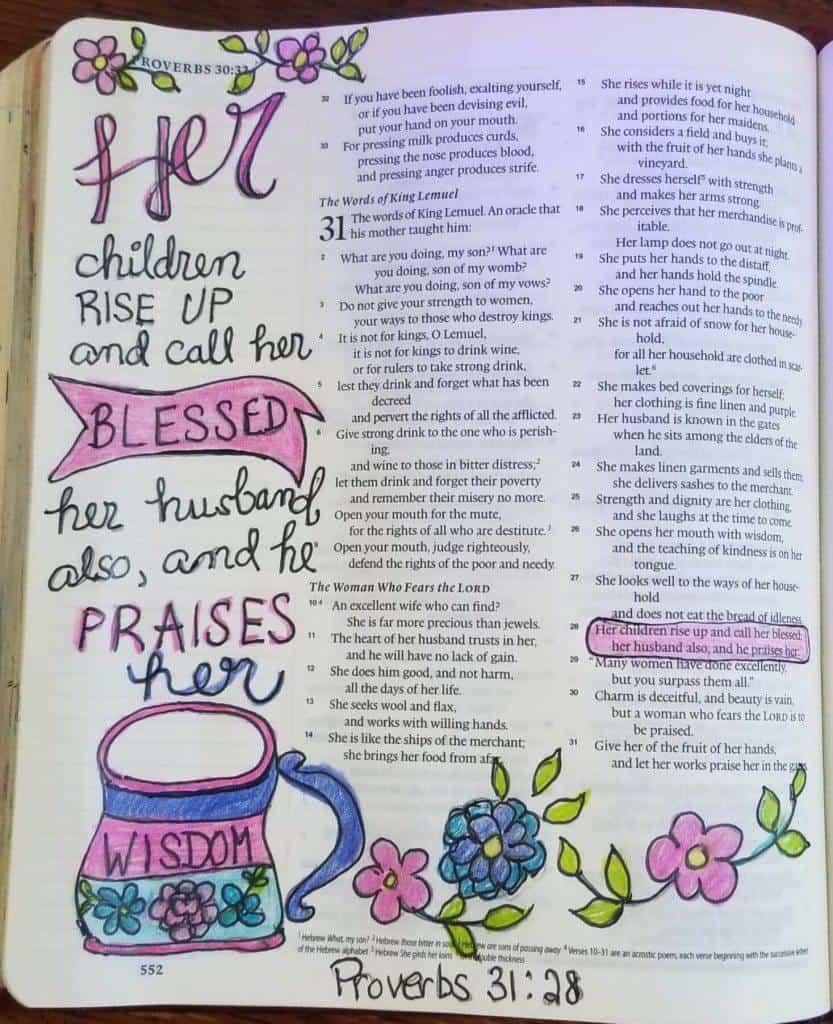 Proverbs 31-28