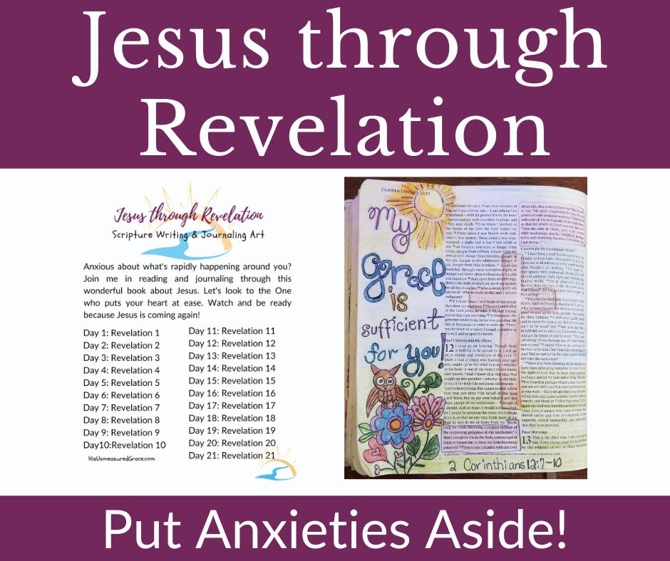 Jesus Through Revelation Graphic