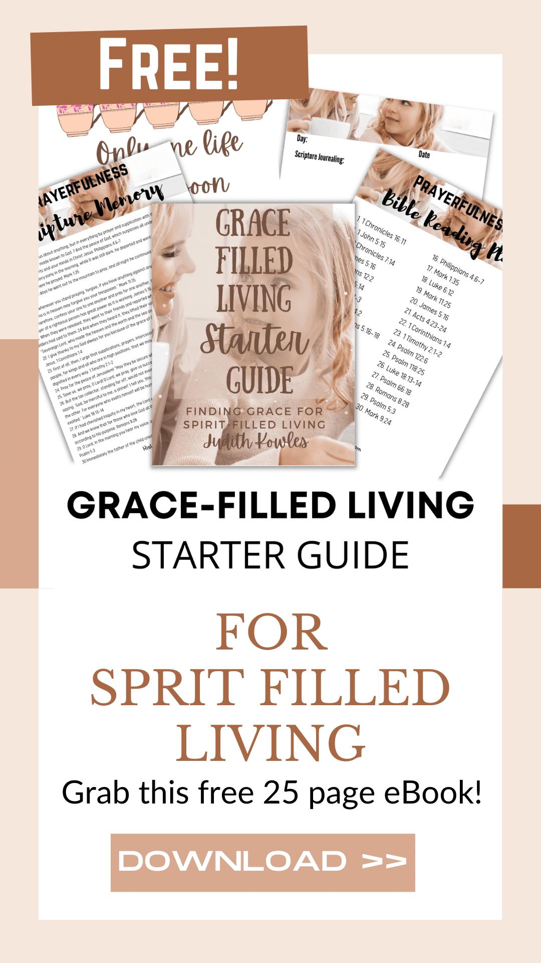 FREE GFL Starter Guide for the Struggling Mom