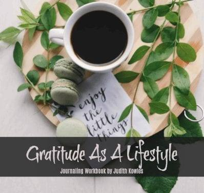 Gratitude as a Lifestyle Journaling Workbook by Judith Kowles