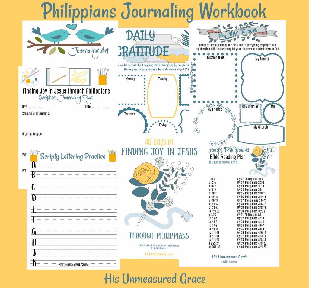 Philippians Journaling Workbook