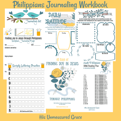 Philippians Journaling Workbook